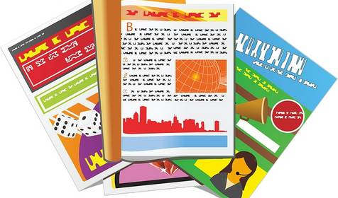 Broschüren & Flyer © Bild von OpenClipart-Vectors auf Pixabay